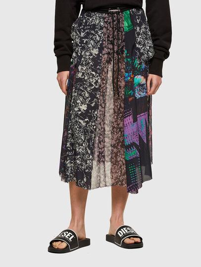 Diesel - O-KLARISSA, Black - Skirts - Image 1