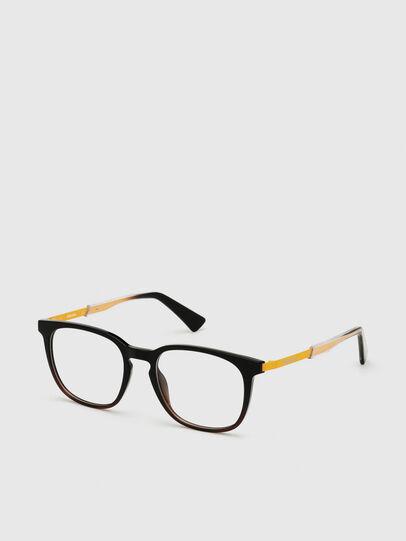 Diesel - DL5349, Black/Yellow - Eyeglasses - Image 2