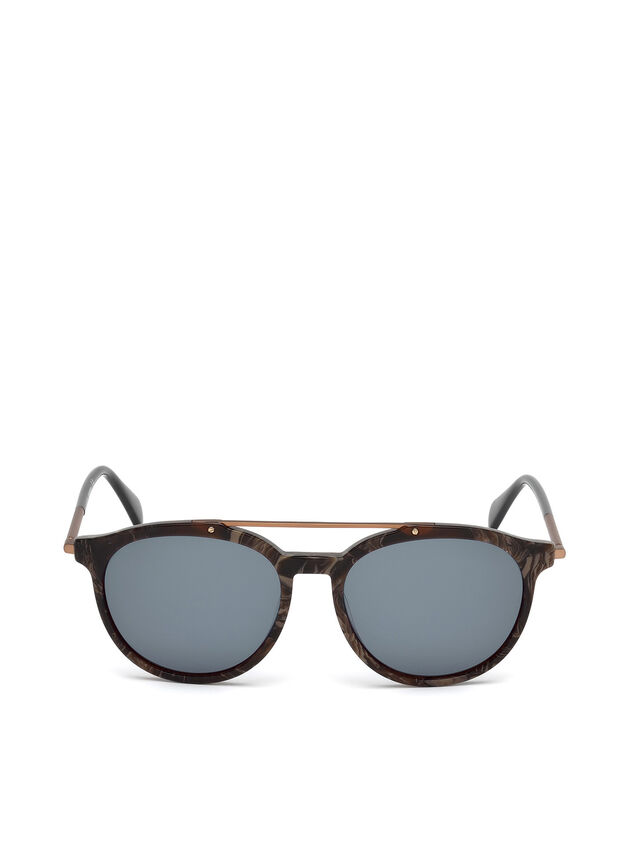 Diesel - DM0188, Brown - Sunglasses - Image 1