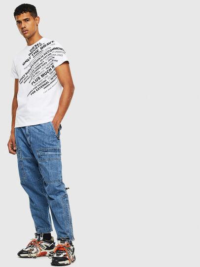 Diesel - T-DIEGO-S3, White - T-Shirts - Image 4