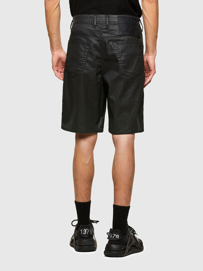 Diesel - D-WILLOH-X-SP JOGGJEANS, Black - Shorts - Image 2