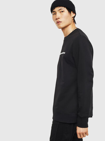 Diesel - SNEILB-A, Black - Sweaters - Image 4