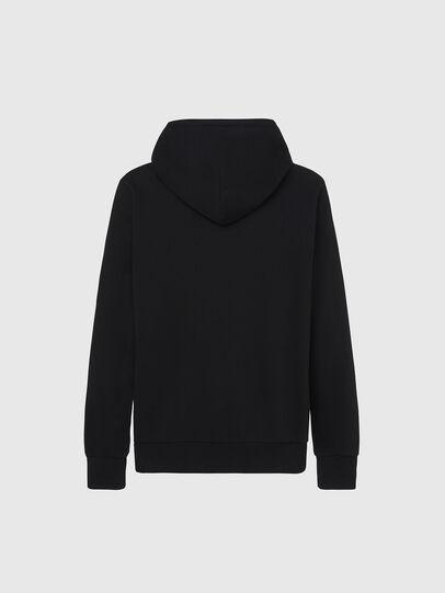 Diesel - S-GIRK-HOOD-X2, Black - Sweaters - Image 2