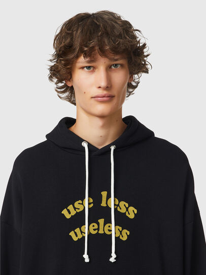 Diesel - S-UMMER-B10, Black - Sweaters - Image 3