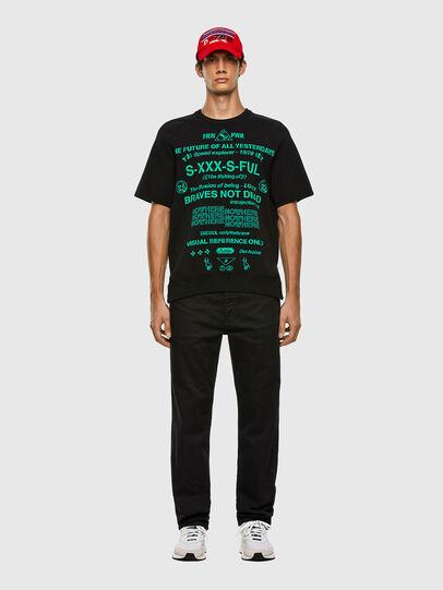 Diesel - K-ERROL, Black - Knitwear - Image 5