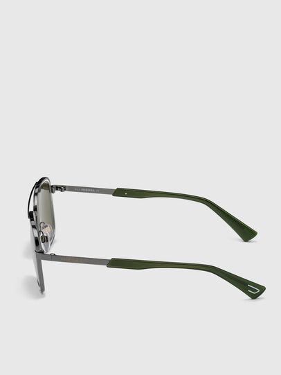 Diesel - DL0320, Green - Sunglasses - Image 3