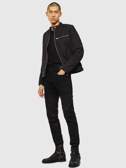Diesel - J-GLORY, Black - Jackets - Image 5