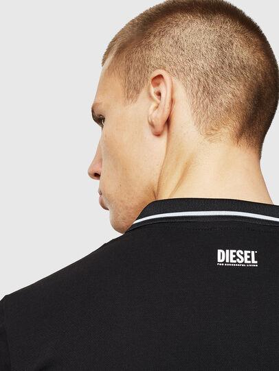 Diesel - LR-T-HART-VIC, Black - Polos - Image 4