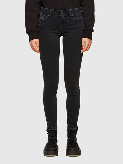 Diesel - D-Jevel 0870G, Black/Dark grey - Jeans - Image 1