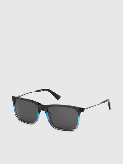 Diesel - DL0309, Black/Blue - Sunglasses - Image 2