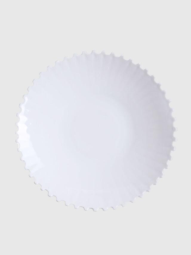 Living 10990 MACHINE COLLEC, White - Plates - Image 1
