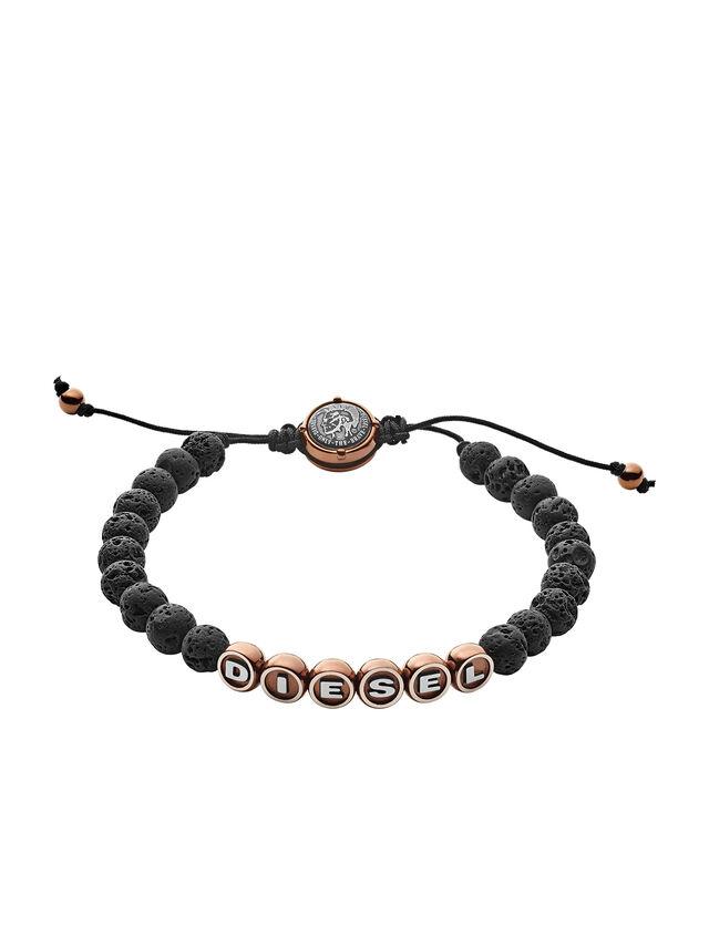Diesel - BRACELET DX1094, Black - Bracelets - Image 1