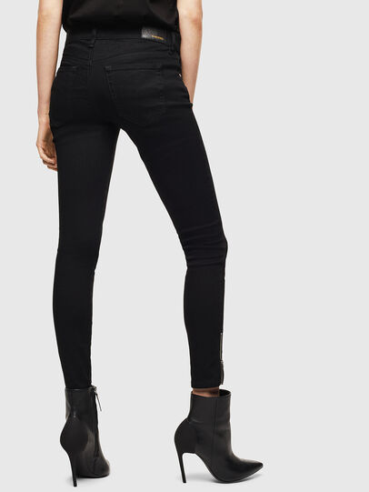 Diesel - Slandy Low 069EF, Black/Dark grey - Jeans - Image 2