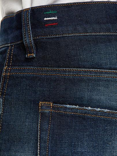 Diesel - D-Vider 0092I, Dark Blue - Jeans - Image 5