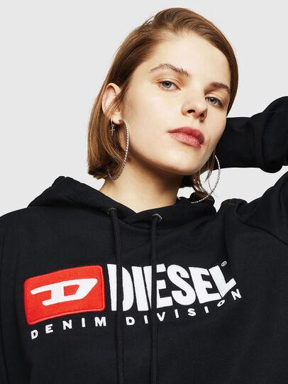 Diesel - F-GIR-HOOD-DIVISION-, Black - Sweaters - Image 3