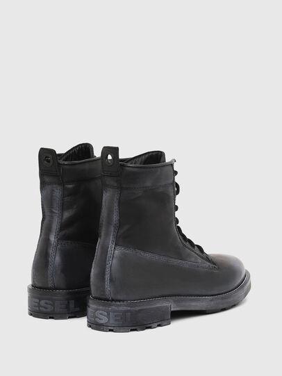 Diesel - D-THROUPER DBB, Black - Boots - Image 3