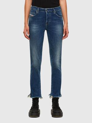 Babhila-Zip 009EZ, Medium blue - Jeans