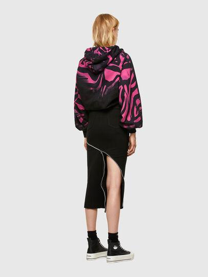 Diesel - O-CROSS, Black - Skirts - Image 7