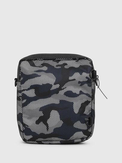 Diesel - ODERZO, Grey/Blue - Crossbody Bags - Image 2
