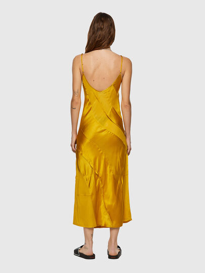 Diesel - D-GAIA, Yellow - Dresses - Image 2
