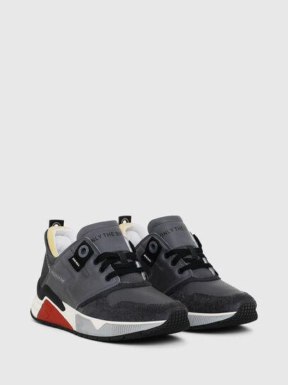Diesel - S-BRENTHA LC, Grey - Sneakers - Image 2