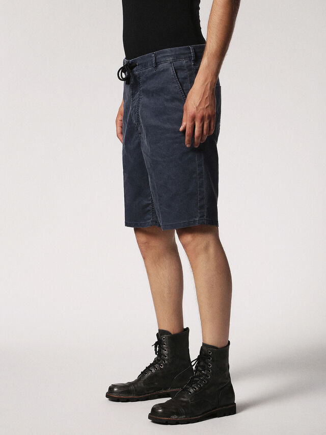 CHINO-SHORT JOGGJEANS, Dark Blue