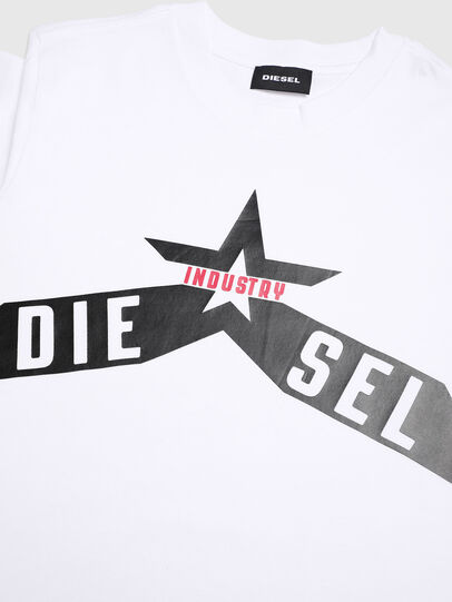 Diesel - TDIEGOA7, White - T-shirts and Tops - Image 3