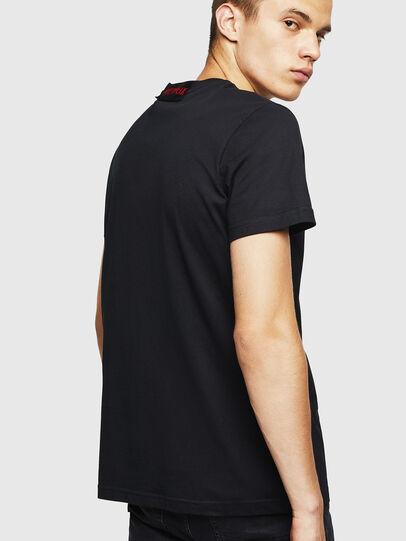 Diesel - LCP-T-DIEGO-MARSELLA, Black - T-Shirts - Image 3