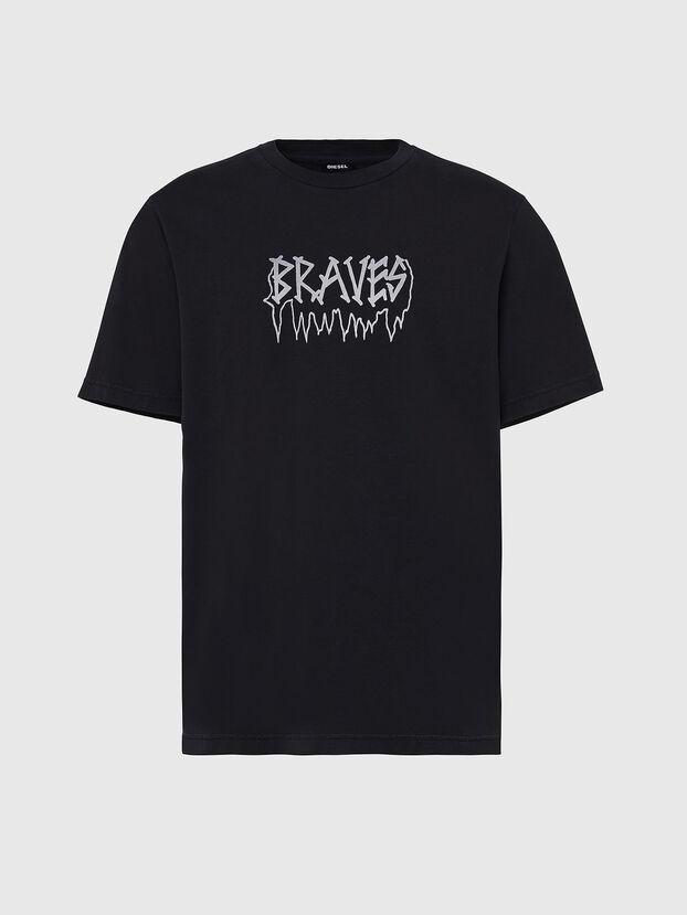 T-JUST-X67, Black - T-Shirts