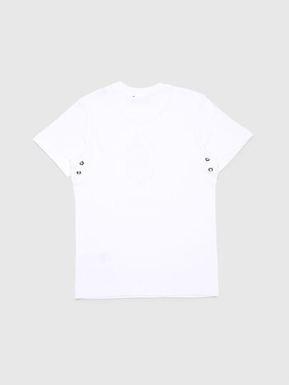 Diesel - TUSILYWQ, White - T-shirts and Tops - Image 2