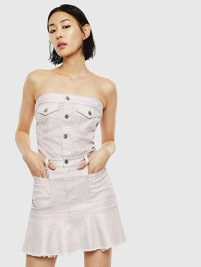 Diesel - DE-BRINNY, Pink - Dresses - Image 1