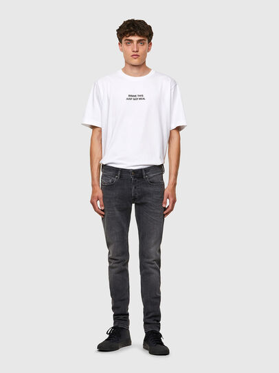 Diesel - Sleenker 09A18, Black/Dark grey - Jeans - Image 5