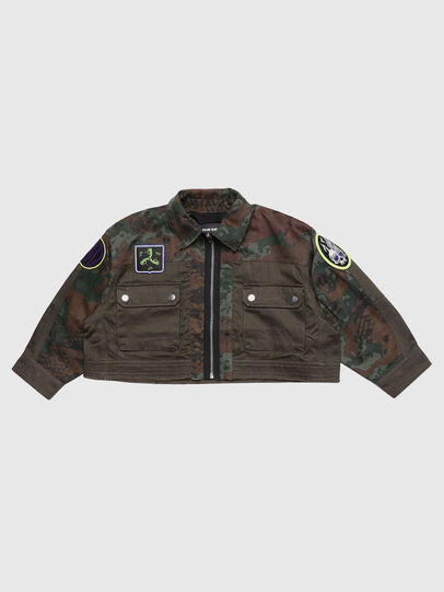 Diesel - JANAPAY, Green Camouflage - Jackets - Image 1