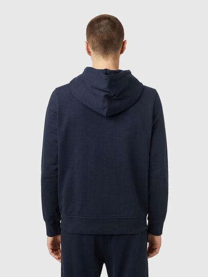 Diesel - S-GIRK-HOOD-ZIP-B2, Dark Blue - Sweaters - Image 2