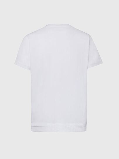 Diesel - T-DIAMANTIK-NEW2, White - T-Shirts - Image 2