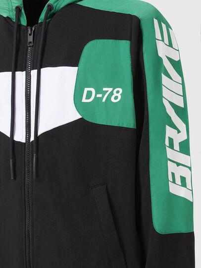 Diesel - S-JAKLER, Black/Green - Sweaters - Image 4