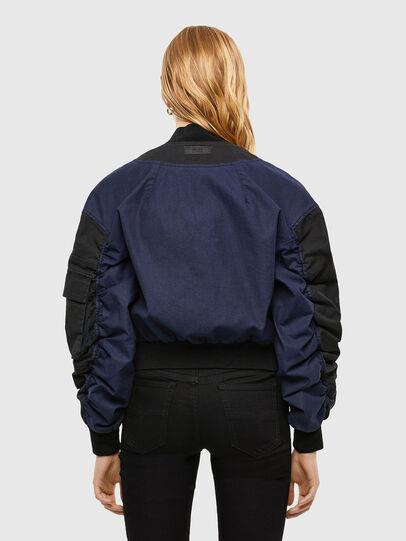 Diesel - D-STOK-SP JOGGJEANS, Black/Blue - Denim Jackets - Image 2