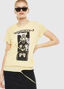 T-EMIKO-C, Light Yellow - T-Shirts