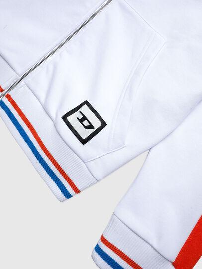 Diesel - UMLT-BRANDON-Z-SP, White/Orange - Sweaters - Image 3