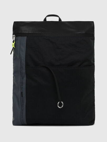Diesel - L-TOLLE BACK, Black/Blue - Backpacks - Image 1