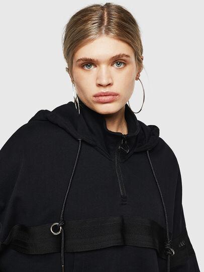 Diesel - F-AVAL, Black - Sweaters - Image 3