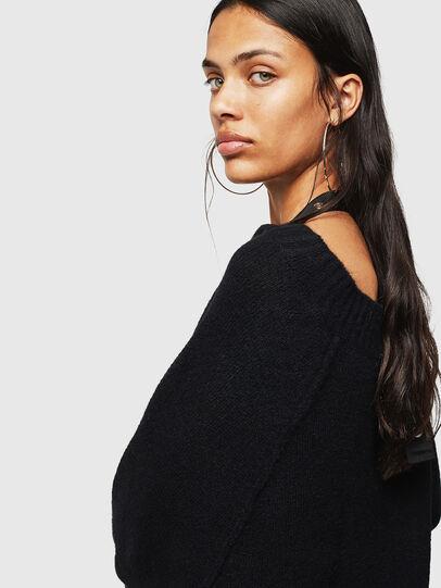 Diesel - M-NOELIA, Black - Knitwear - Image 4