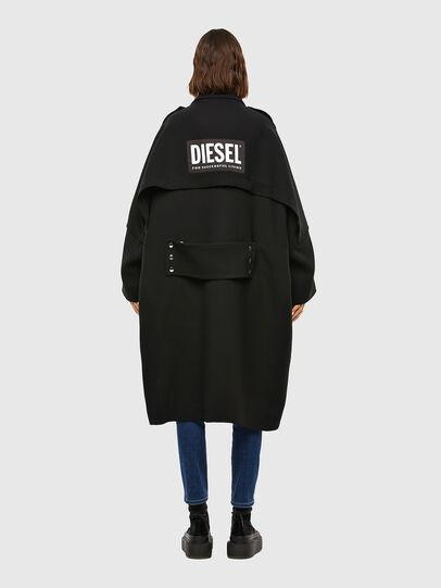 Diesel - W-TILLER, Black - Winter Jackets - Image 2