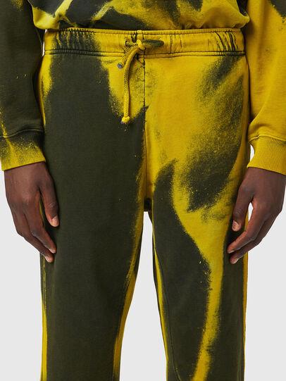 Diesel - P-CALTON-RIB-B1, Yellow/Green - Pants - Image 5