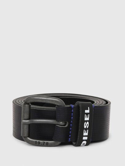 Diesel - B-CAVA, Black/Blue - Belts - Image 1