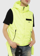 W-SUN-REV-SLESS, Yellow Fluo - Winter Jackets