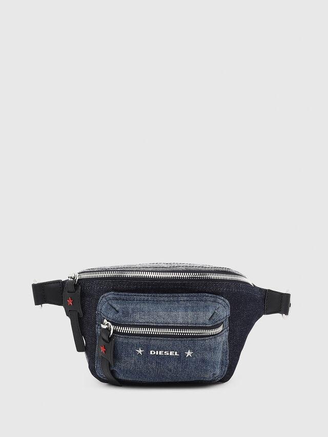 Diesel - F-DESTAR BELTBAG, Blue Jeans - Bags - Image 1