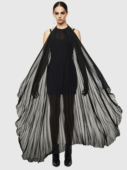 Diesel - D-SOLEIL, Black - Dresses - Image 6