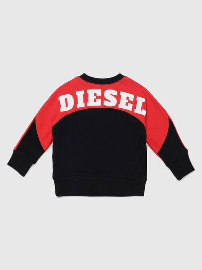 Diesel - STRICKB, Black/Red - Sweaters - Image 2