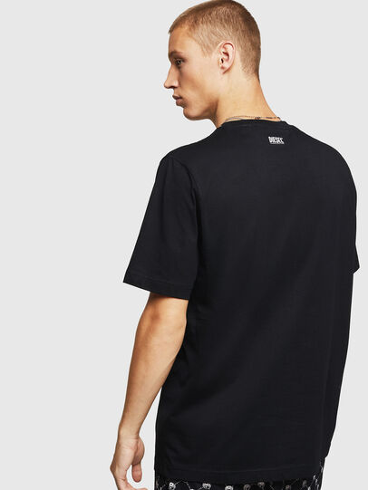 Diesel - T-JUST-B15, Black - T-Shirts - Image 2